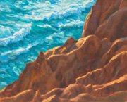 Torry Pines - oil - 8x10